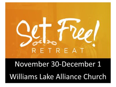 Set Free! Retreat